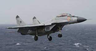 Indian Navy MiG-29K Trainer Aircraft Crashes Into Arabian Sea, One Pilot Rescued Another Missing