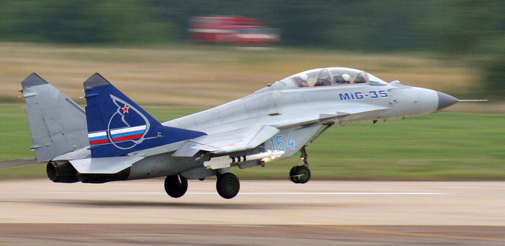 Upgraded Russian Mig-29 & MiG-35 Fighter Jet To Feature Automatic Landing System