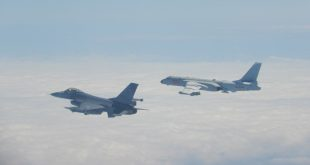 Taiwan F-16 Fighter Jets Scrambled To Intercept Chinese J-11 Fighters and KJ-500 AEW Aircraft