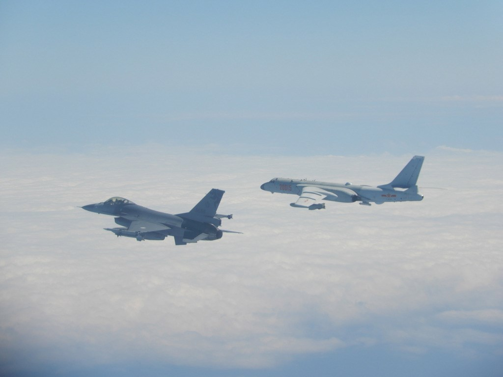 Taiwan Scrambles F-16 Fighter Jets To Intercept Chinese Warplanes