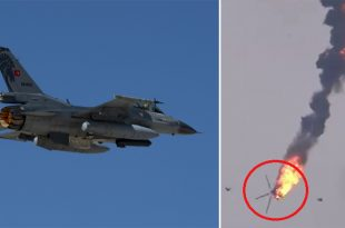 Turkish Air Force F-16 Reportedly Shot Down Syrian Mi-17 Helicopter By AIM-120 AMRAAM Missile: Reports