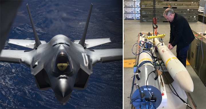 U.S. Air Force New Missile Prepares For F-35 Joint Strike Fighter Tests
