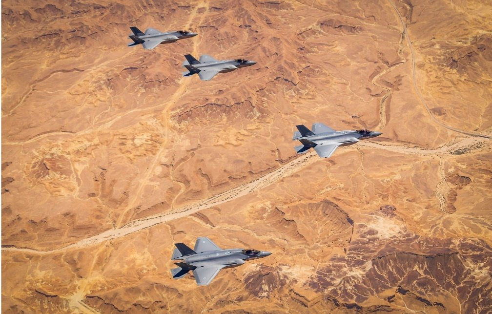 Due To COVID-19 USAF & IAF Carry Out First Bilateral F-35 Exercise With No Face-Face Activity