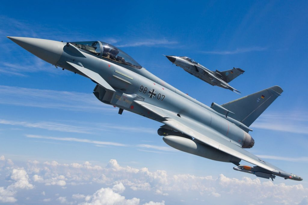 German Air Force Reportedly Buying F/A-18E/F Super Hornets & Eurofighter Typhoon To Replace Panavia Tornado