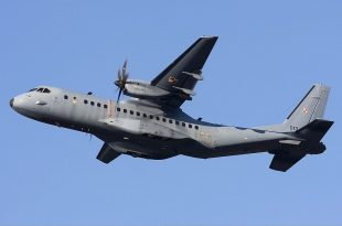 Indonesian Air Force CASA CN-295M Transport Aircraft Hit By Ground Fire While Flying At An Altitude Of 4800 Feet