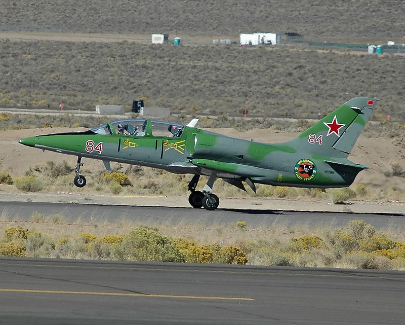 Russian Air Force Aero L-39 Albatros Combat Trainer Crashes During Training Flight