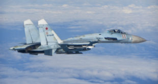 Russian Air Force Sukhoi Su-27 Reportedly Crashed Into The Black Sea