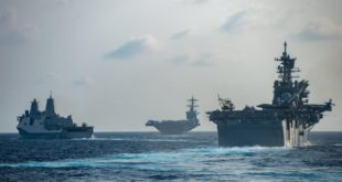 Two U.S. Navy Aircraft Carriers In Western Pacific Reported COVID-19 Cases
