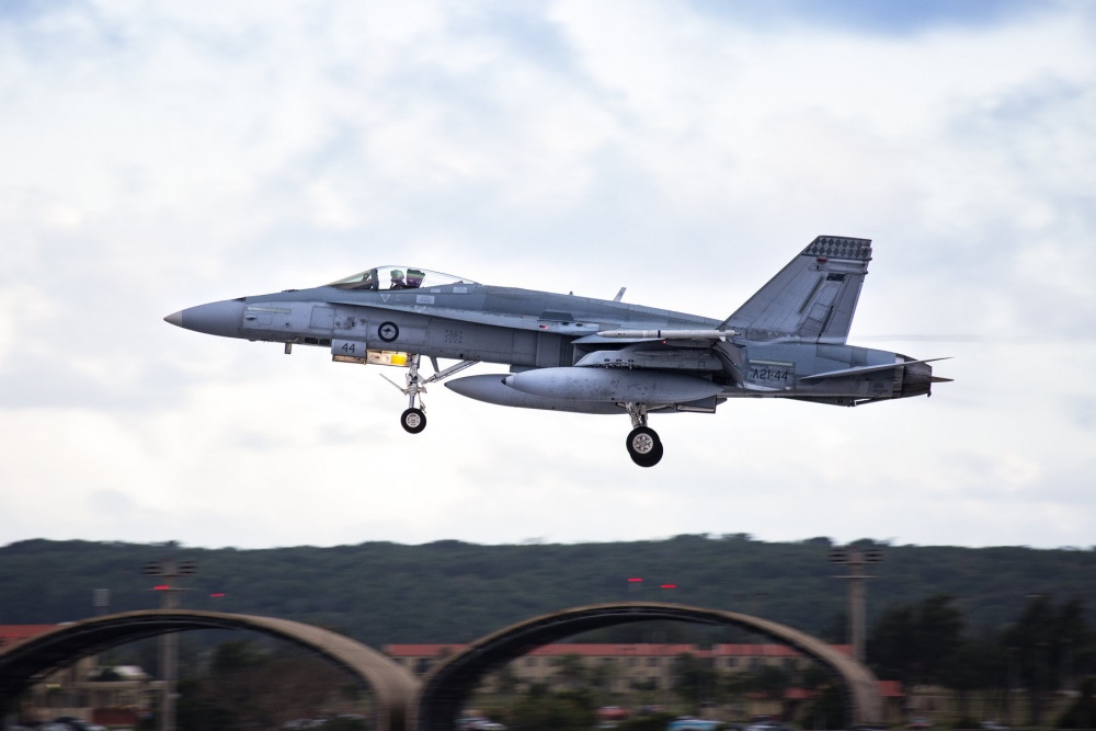 Air USA To Buy 46 Retired Royal Australian Air Force F/A-18 Hornet Fighter Jets