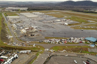 At Least 11 Aircraft Damaged After Nashville Airport Hit By Tornado
