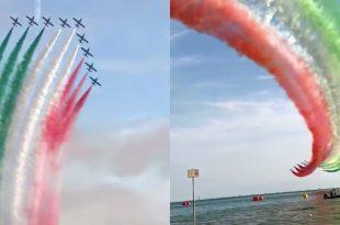 Italian Air Force Flight Demo Team Gives Nation an Emotional Boost During Battle Against Coronavirus