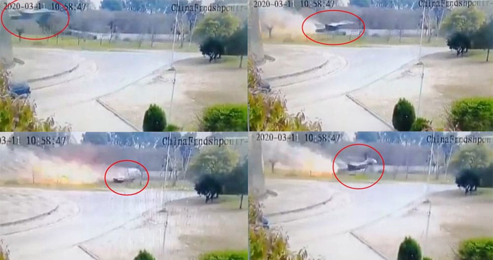 Shocking Video Shows Moment PAF F-16 Impacted The Ground During March 23 Parade Rehearsal