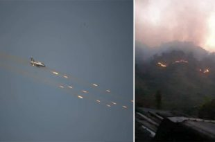 At Least 21 Dead As Myanmar Air Force Fighter Jets Opened Fire On Civilians In Chin State: Report