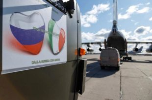 Russia Sends Covid-19 Response Group To Rescue Italy To Counter Coronavirus Outbreak