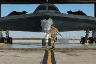 U.S. Air Force Deploys B-2 Spirit Stealth Bombers To Portugal