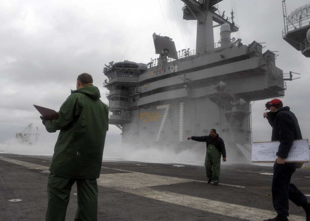 At Least 840 Sailors On USS Roosevelt Aircraft Carrier Test Positive For COVID-19
