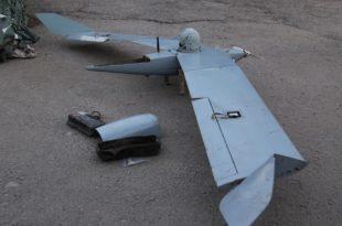 Armed Forces Of Ukraine Shoot Down Russian Drone In Donetsk Region