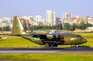 Bangladesh Air Force Receives Last Of Five UK-Surplus Lockheed Martin C-130J Hercules Transport Aircraft
