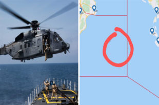 Royal Canadian Air Force Sikorsky CH-148 Cyclone Helicopter Crashed Into Ionian Sea Between Greece & Italy