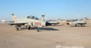 Chinese Engineers Develops Fighter Jet For Training Pilots On Country's Newest Generation Aircraft Carrier