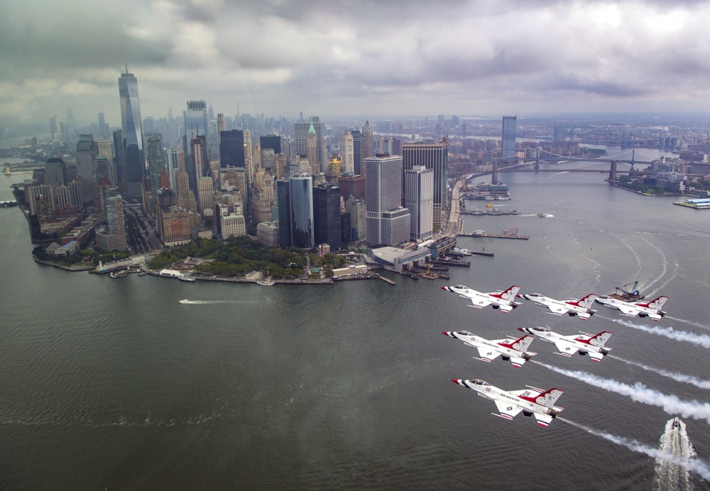 Why Fighter Jets Are Flying Over American Cities Today