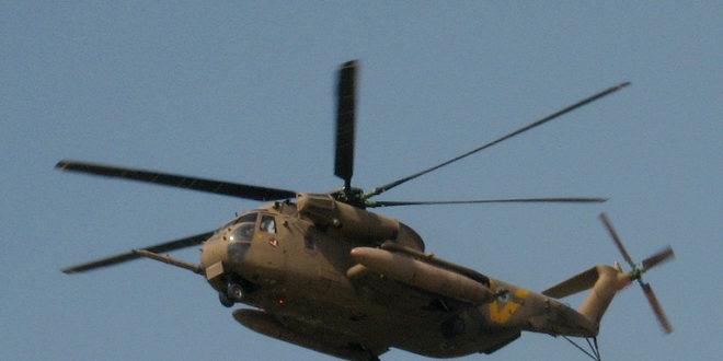 Israeli Defence Force Sikorsky CH-53 Yas'ur Helicopter Makes Emergency Landing