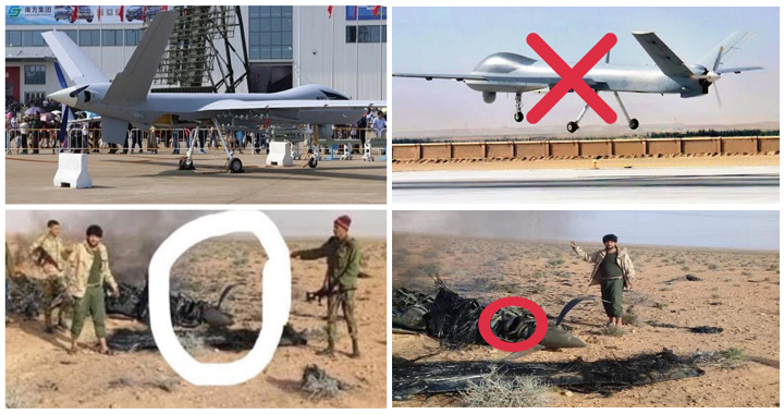 Libya's LNA & GNA Forces Accuses Eachother Of Shooting Down Combat Drone Over Alwashka