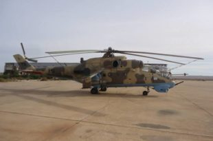 Libya's GNA Forces Shot Down LNA Mil Mi-35 Helicopter Killing Three Pilots