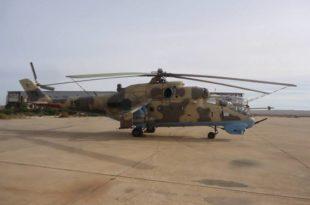 Libya's GNA Forces Shot Down LNA Mil Mi-35 Helicopter Killing Three Pilots