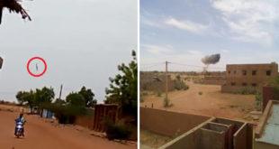 Mali Air Force A-29B Super Tucano Crashes Near Mopti Killing Both Pilots