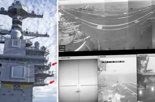 U.S. Navy New Ford Class Supercarriers Has A Revolutionary Video System
