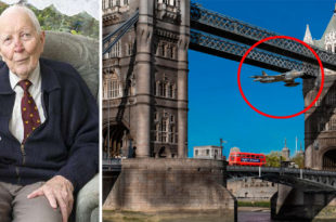 52 Years Ago Today Royal Air Force Pilot Flew Hawker Hunter Jet Under Tower Bridge