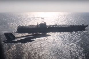 Russia Releases Video Showing Russian Navy Il-38 Buzzing U.S. Aircraft Carrier In The Pacific