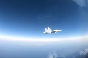 Russian SU-35 Fighter Conducts Second Unsafe Intercept Of U.S. Navy P-8A Poseidon Aircraft In Four Days (Video)
