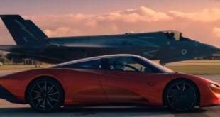 McLaren Speedtail Vs F-35 Lightning II: Watch Top Gear Race A Car Against Fighter Jet