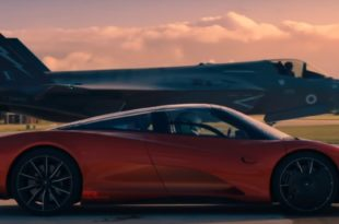 McLaren Speedtail Vs F-35 Lightning II: Watch Top Gear Race A Car Against Fighter Jet