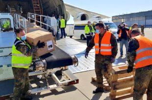 World's Largest Cargo Plane Brings 10 Million Face Masks To Germany