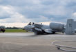 U.S. Air Force A-10C Thunderbolt II Aircraft Makes Emergency Landing At Moody Air Force Base