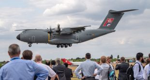 Airbus A400M Atlas Military Transport Aircraft Achieves Automatic Low-Level Flight Certification