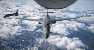 B-1B World Tour: U.S. Air Force Bombers Fly Over Sweden For First Time