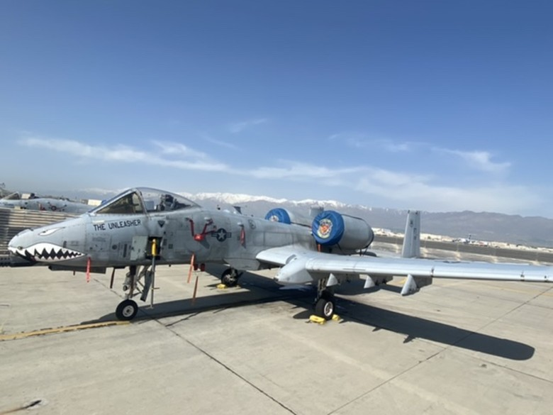 Battle Damaged A-10  Resumes Service After Air Force Engineers Fixed Warthog From Home