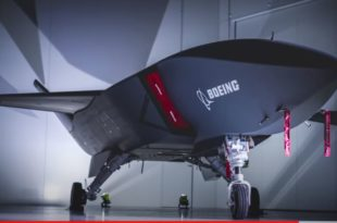 Boeing Rolls Out Royal Australian Air Force First 'Loyal Wingman' Combat Drone