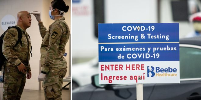 Those Who Have Tested Positive For COVID-19 Are No Longer Eligible For Military Service