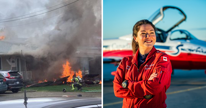 Canadian Forces Snowbird Jet Crash: One Team Member Has Died And One Sustained Serious injuries