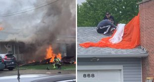 Canadian Air Force Snowbirds team Jet Crashes Into Home During Operation Inspiration Flyover