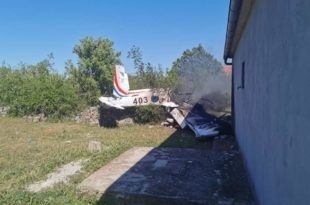 Croatian Air Force Zlin 242L Trainer Aircraft Crashed killing Both Pilots