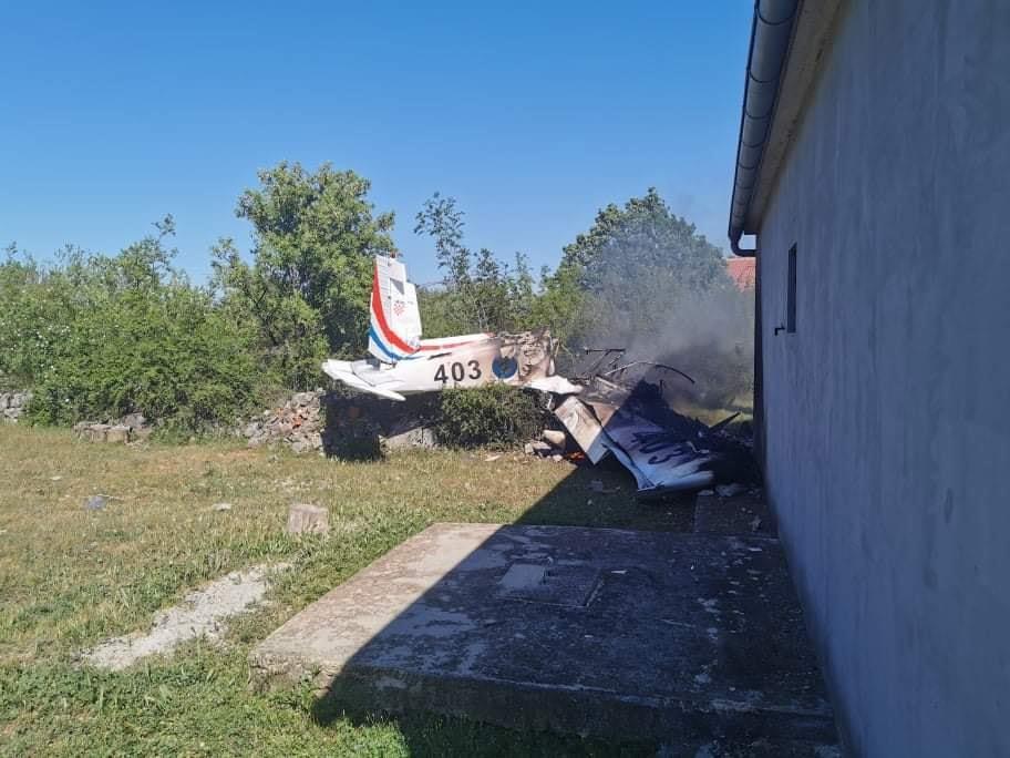 Croatian Air Force Zlin 242L Trainer Aircraft Crashed killing Both Pilots