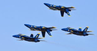 Video Shows Drone Flying Dangerously Close To Blue Angels Jets In Detroit