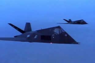 12 Years After Retirement F-117 Nighthawk Stealth Jets Just Flew A Mission