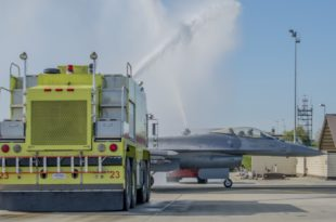 U.S. Air Force F-16 Creates History As Falcon Roared Past 10,000 flight hours